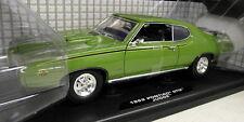 Motormax 1/18 Scale 73133 Pontiac GTO Judge 1969 Green Diecast model car