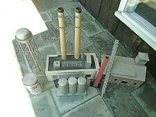 Hand Crafted 0 scale train buildings- PACIFIC ELECTRIC