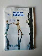 Nokia 6610i Instruction Book