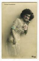 c 1909 Cabaret Music Hall Dancing GUDRUN HILDEBRANDT Dancer Dance photo postcard