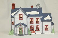 "Retired Dept 56: New England Village: ""Pennsylvania Dutch Farmhouse"" #5648-0"