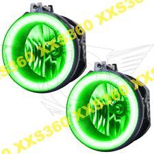 ORACLE Halo FOGLIGHTS Dodge Challenger 11-14 GREEN LED Angel Eyes
