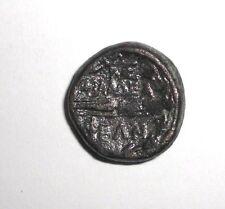 Ancient Greek, Bronze coin, Shield, Thunderbolt