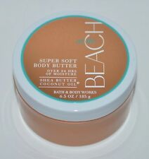 BATH & BODY WORKS AT THE BEACH SUPER SOFT BUTTER LOTION CREAM SHEA 6.5OZ COCONUT