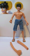 Rubber Maxi Action Figure One Piece all'arrembaggio - 31 cm. - GIG raro