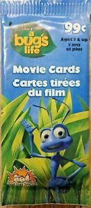 A Bugs Life Movie Cards Trading Cards OVP Sammelkarten 6+2 Karten 1998