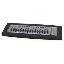 Control de iluminación Showtec fácil Fade 16 Dmx Escritorio Teatro de Escenario DJ 32ch fácil de usar