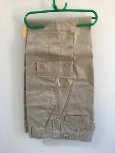 cargo trousers several pockets ideal work trousers BEIGE