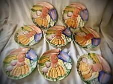 16 Piece Vintage Fitz And Floyd Serving Dishes And Mugs
