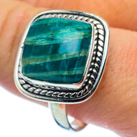 Amazonite 925 Sterling Silver Ring Size 11.5 Ana Co Jewelry R37484F