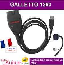 CABLE OBD2 INTERFACE GALLETTO 1260 - MPPS - COM VAG + IMMOKILLER VOLTA ECUSAFE