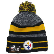 NFL Cuff Pom Knit Pittsburgh Steelers New Era Cap