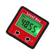 Digital LCD  Protractor Angle Meter Finder Gauge Level Box Magnetic Inclinometer