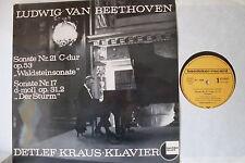 Waldsteinsonate - Der Sturm (Beethoven) - LP 1958 - TST 76680 - Detlef Kraus