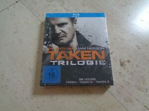 The TAKEN TRILOGY 3 Disc LIMITED EDITION Blu-ray DIGIPAK Liam Neeson