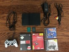 Sony Playstation 2 Slim Console Dave Mirra BMX Bundle Memory Cards PS2