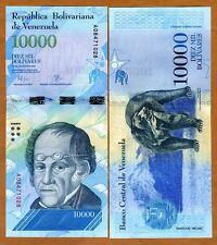 Venezuela 10000 Bolivares, 2016 P-New  A-Prefix New design, denomination UNC