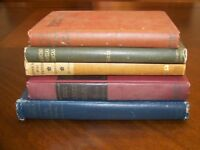 Antiquarian book lot: Ponkapog Papers, The Green Years, Ah Wilderness, Zaragoza
