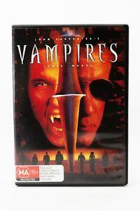 Vampires Horror DVD By John Carpenter From Halloween With James Woods