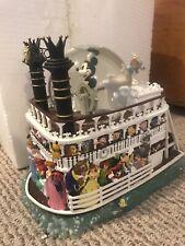"Disney Liberty Belle Riverboat ""Fantasmic"" Snow Globe"