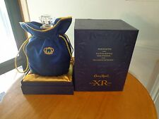 Crown Royal XR Liquor Bottle Decanter Original Bag Box Bar Decor