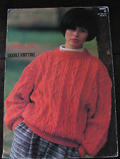 """Jaeger Knitting Pattern: Ladies Cabled Sweater, DK, 32-40"""", 5502"""
