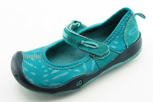 KEEN Toddler Girls 9 Medium Blue Mary Janes Synthetic