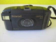 Retro POLAROID Captiva AF SLR Instant Film Camera with F/12 107mm Lens Used