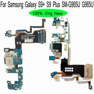 For Samsung Galaxy S9+ S9 Plus SM-G965U USB Charging Connector Port Flex Cable