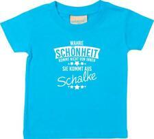 Kinder T-Shirt  Wahre Schönheit kommt aus Schalke