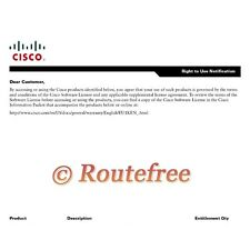 *NEW* L-880-AIS Cisco 880 Advanced IP Services License PAK *E-Delivery*