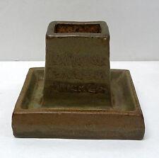 RARE L A Pressed Brick Co. Match Book Holder