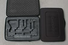 NEW IN BOX SHURE MICROPHONE CASE FOR BETA 52A SM57 A56D drum dmk57-52 mic