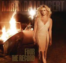 MIRANDA LAMBERT Four The Record CD BRAND NEW