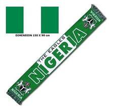 ECHARPE + DRAPEAU NIGERIA maillot fahne flag scarf schal sciarpa bufanda ...
