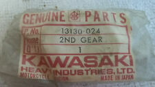 Kawasaki OEM NOS 2nd drive gear 13130-024 F6 F7 KD175 KE175  #5108