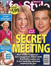 JENNIFER ANISTON Life & Style Weekly Magazine July 3 2006 7/3/06 BRAD PITT B-1-1