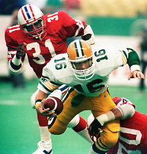 Matt Dunigan - Edmonton Eskimos, 8x10 Color Photo