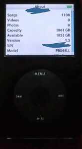 2TB Flash SSD (SD) for 5th 6th** or 7th Gen iPod Classic Video 256GB 512GB 1TB