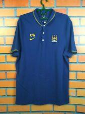 Manchester City Jersey XL Polo Shirt Nike Training Football Nike 607650-411
