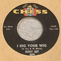 Buddy GUY dig your wig 45 monster R&B MOD northern soul POPCORN dancer 45 VG++