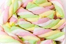 Large Mallow Twists Marshmallows 1kg Bag, Fountains Weddings Bonfire Night