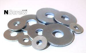 M6 M8 M10 M12 REPAIR WIDE WASHERS/PENNY WIDER LARGER DIN 9021