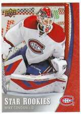 2015-16 Upper Deck NHL Star Rookies Hockey RC #2 Mike Condon Canadiens