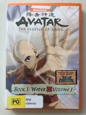 Avatar - The Legend of Aang - Water : Book 1 Vol 1 (DVD) Region 4- NEW & SEALED