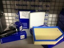 Genuine Volvo V40 2.0 Diesel Service Kit Oil/Air/Fuel/Pollen Filters And Washer