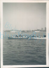 More details for 1951 girl guides photo ts foudroyant two boats rowing sea regatta 3.5*2.2