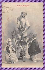 Carte Postale - Bergeret - Noël en bretagne