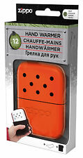Zippo Scaldamani Handwarmer ORANGE REGULAR 12 Ore da Tasca in Metallo