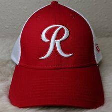 NEW ERA Tacoma Rainiers MiLB Logo Hat 39THIRTY Flex Fitted Cap S/M Red White